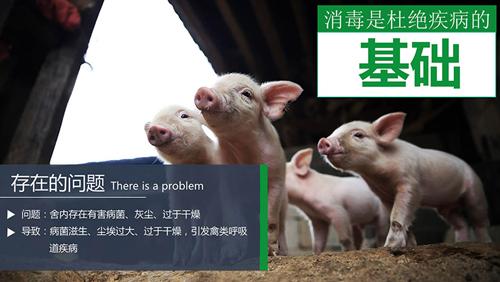 养殖场消毒的必要性