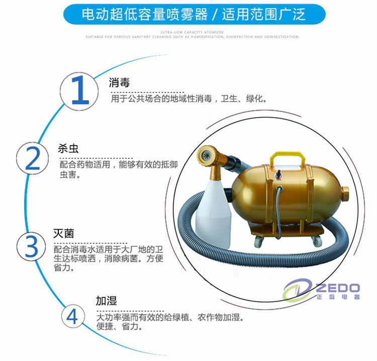 电动超微雾化机